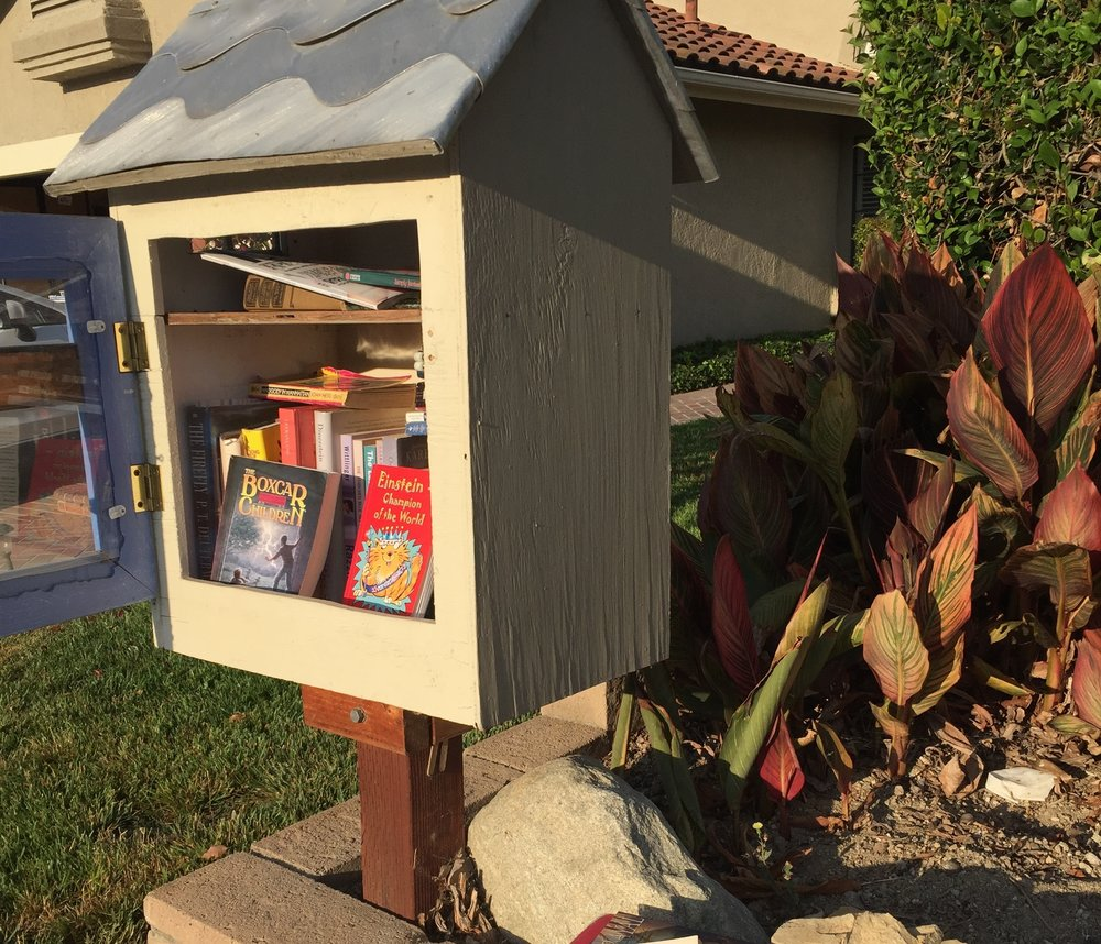 My Own Library - Surely you've heard of Little Free Libraries. Even if you've not seen one in person, these personal book-sharing boxes have popped up in neighborhoods across the U.S. They're quickly becoming an important method of book distribution around the world. I built one, stuck it in my front yard, and have a great time tending it. Here's what I'm reading.