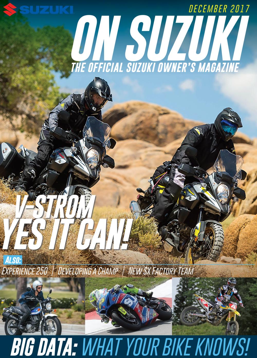 December 2017 issue of On Suzuki magazine