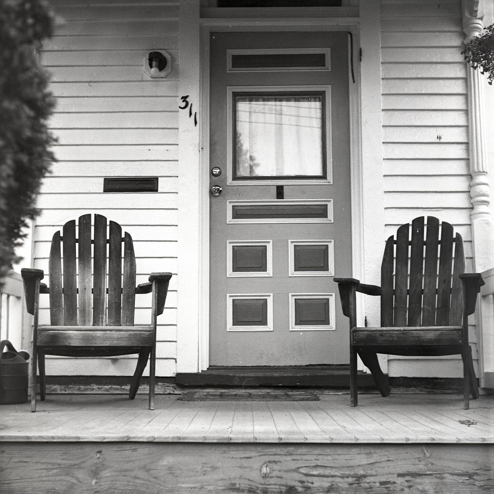 Front Porch Chairs | Downtown | Fredericksburg, Virginia