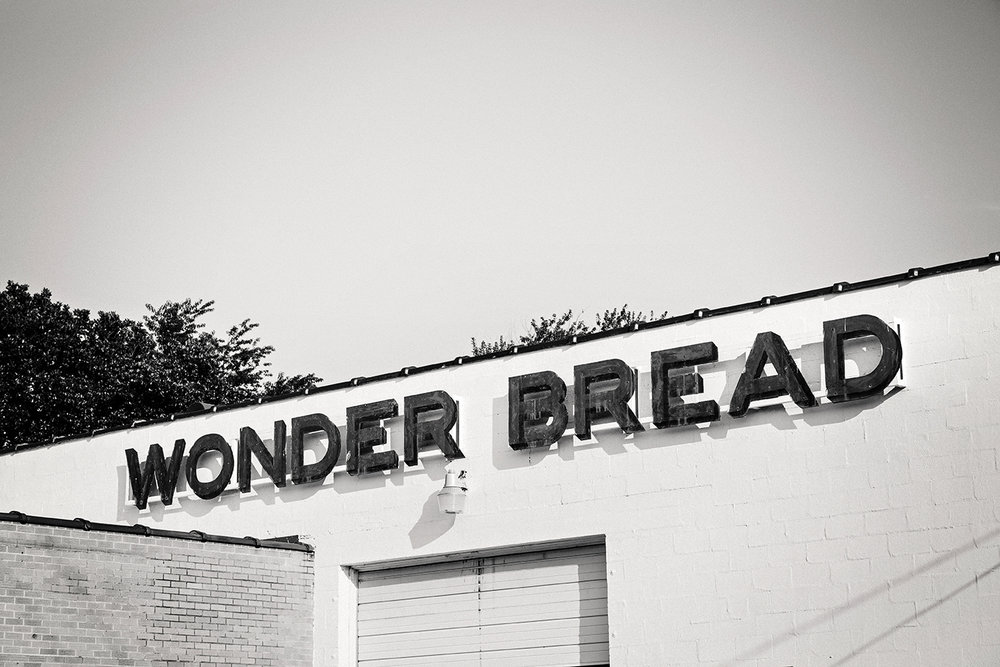 Wonder Bread Thrift on Powhatan Street, permanently closed