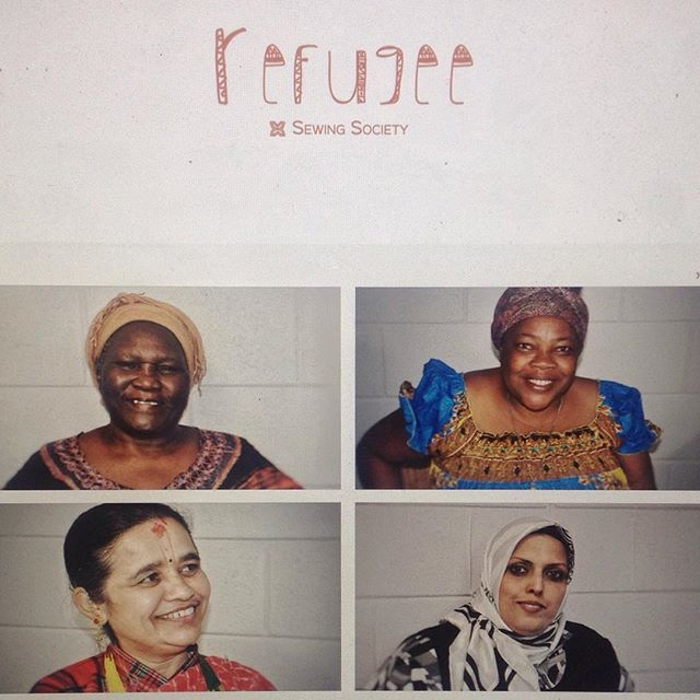 Working on our new website. Shop soon at refugeesewingsociety.com and get to know more about our wonderful products and women. #dogood #womenempowerment #refugeesewingsociety
