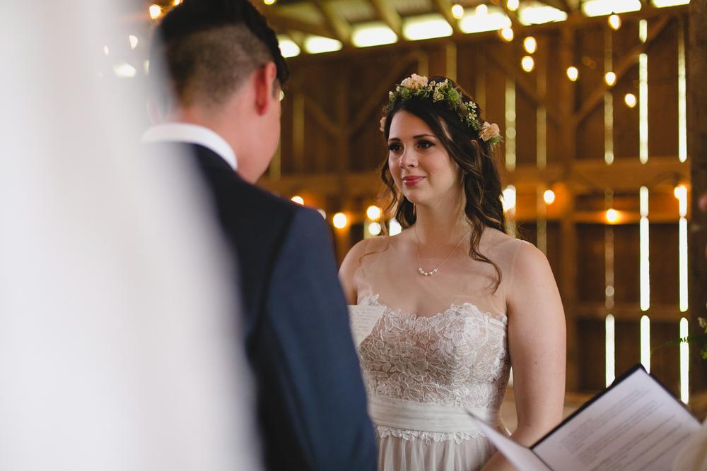 wedding emotional moment