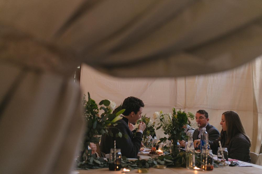 wedding reception detail
