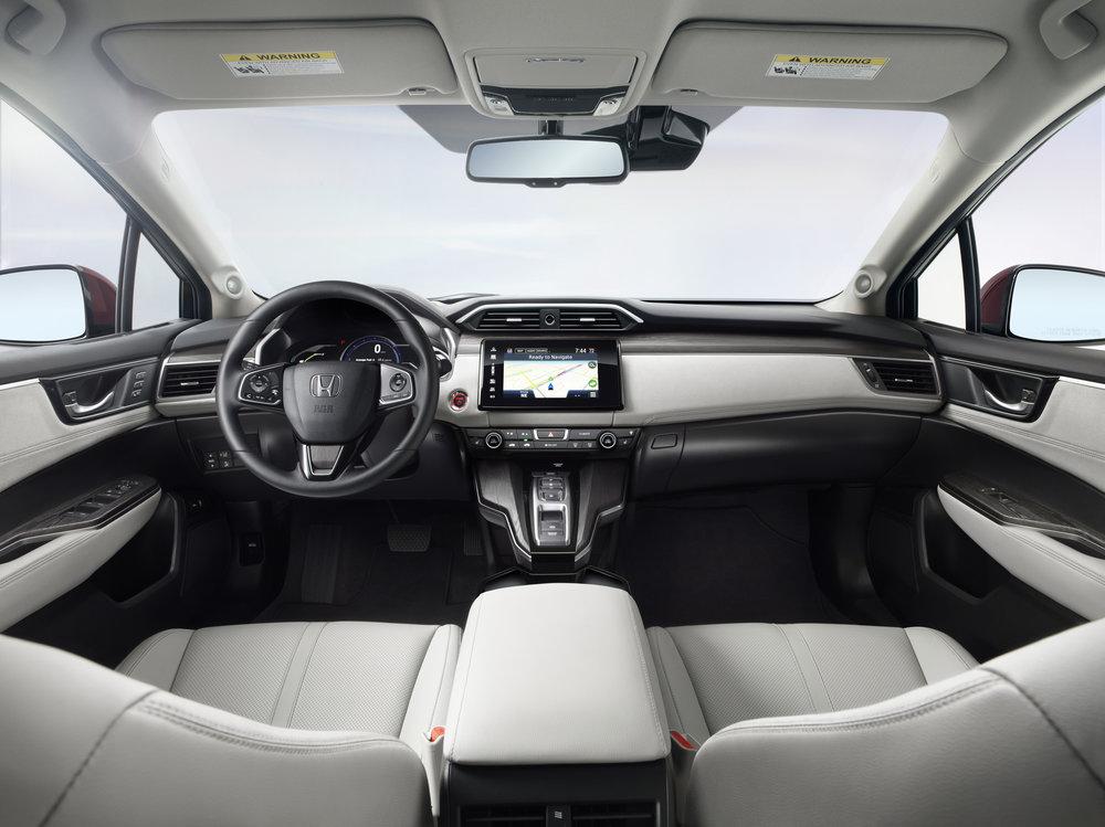 2017 Honda Clarity Interior
