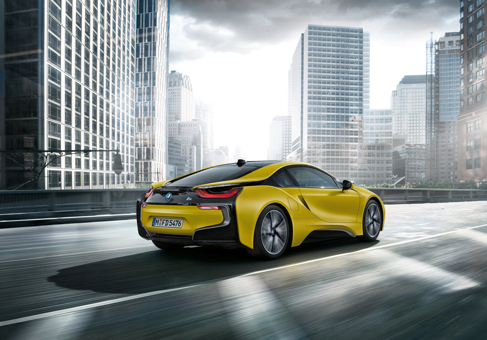 The 2018 Bmw I8 Protonic Frozen Yellow Edition Debuts In Shanghai