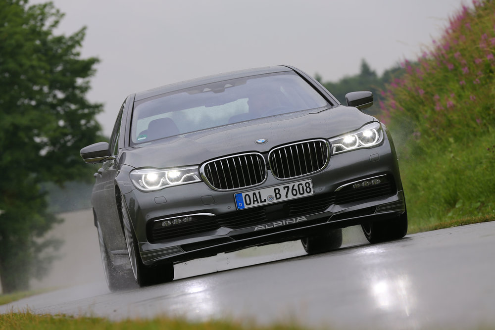2018 Uk Spec Alpina B7 Bi Turbo Hits 205 Mph Autoclip News
