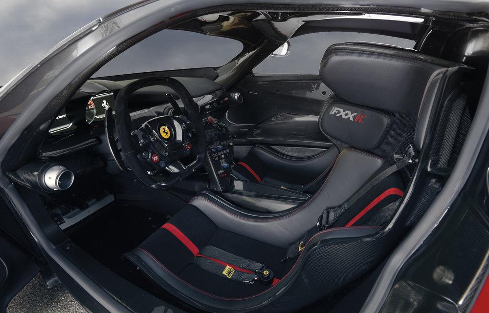 2014 Ferrari FXX-K Interior
