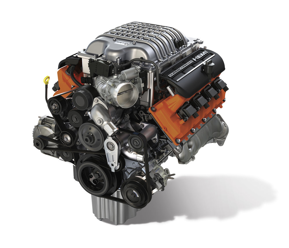 Hellcrate engine assembly - $19530