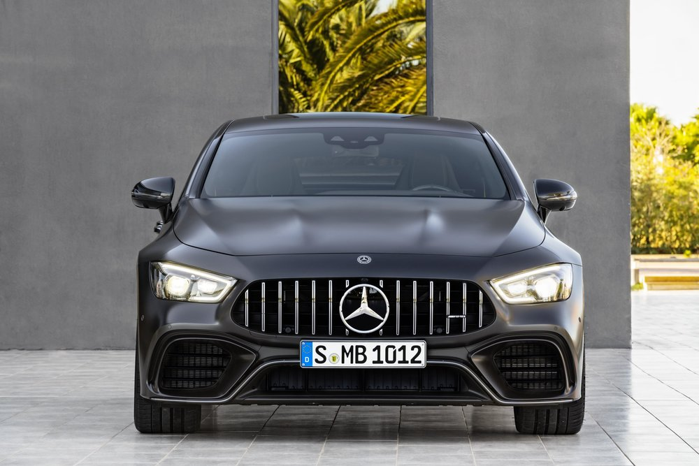 Pictured: 2019 Mercedes-AMG GT63 S in black