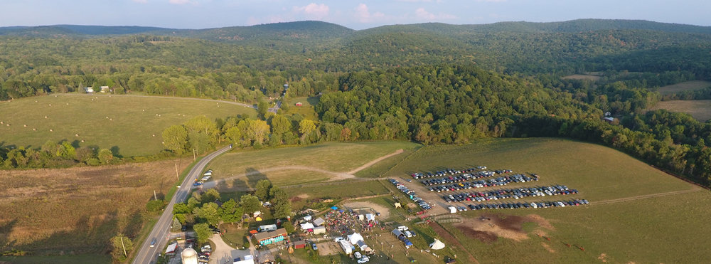 A birds-eye view of Oldtone '16...
