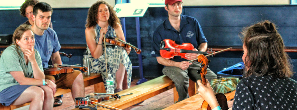 Fiddle workshop w/ Kalia Yeagle of Bill & The Belles….