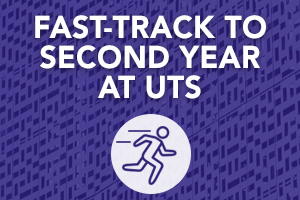 Study 8 months at UIC and go direct to UTS! The Pathway to UTS – IT program awards students 48 credit points toward their UTS IT degree – equivalent to one year of study.
