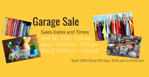 Spring Garage Sale — Grace United Church