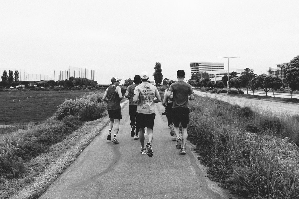 Run with a    Tribe