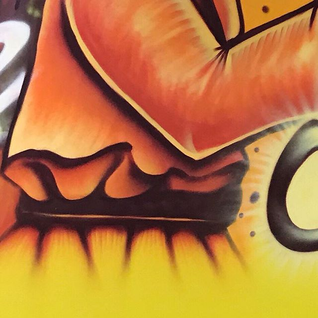 Toonkified Mural: @stardustjiujitsu opening soon! - Location: Stardust Jiu Jitsu 510 Tillman St Memphis, TN 38112 Suite 108 - - - #oss #connection #panda #dinosaur #mural #jiujitsu #stardustjiujitsu✨ #stardustjiujitsu✨coming #toonkified #toonkification #spraypaint #montanagold ##toonkifiedmural