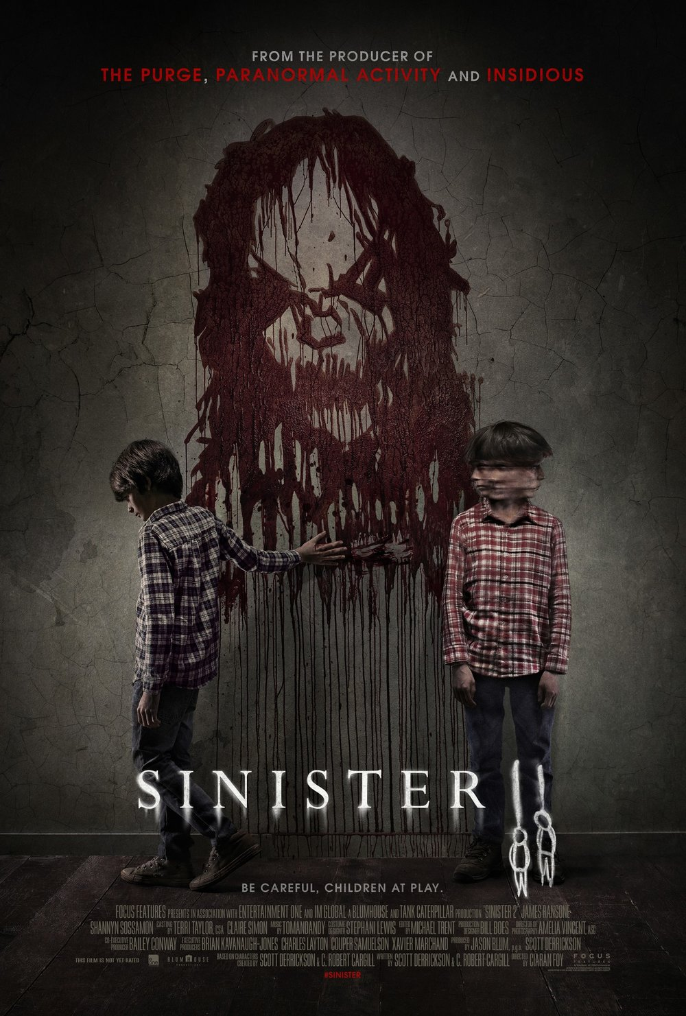 Theatrical poster for Sinister II by Gravillis Inc.