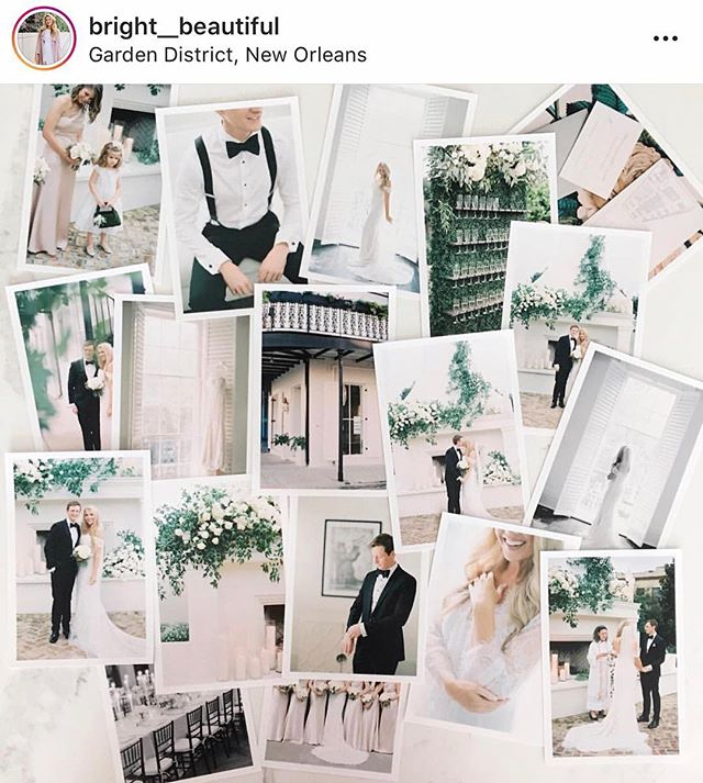 Loved being part of this gorgeous wedding. Bride @bright__beautiful 💕  @clarypfeiffer  @givernydesign  @luminousevents  @ilmercatonola  @joelcatering  @sapphireevents  @scriptura_nola  @mariahelenacalligraphy  @pronovias  @mira_couture  @jennyyoonyc  @melrosemansion  @lynnavo