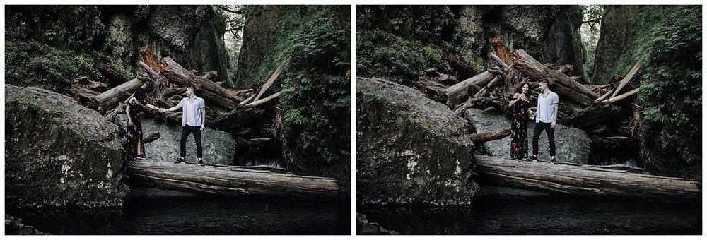 Portland Oneonta Gorge Wedding Photography