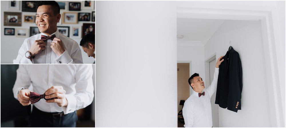 Sydney Wedding Groom Prep