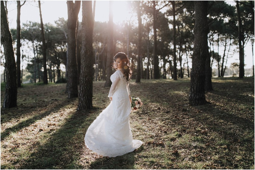 Centennial Park Wedding Portraits