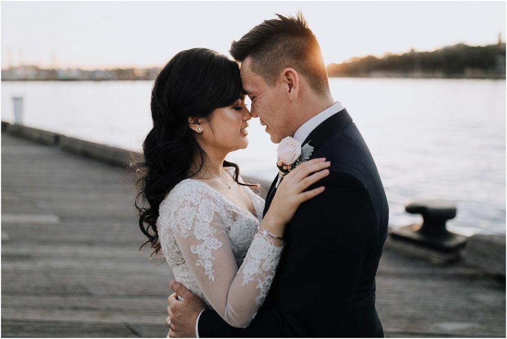 Pirrama Park Wedding Portrait