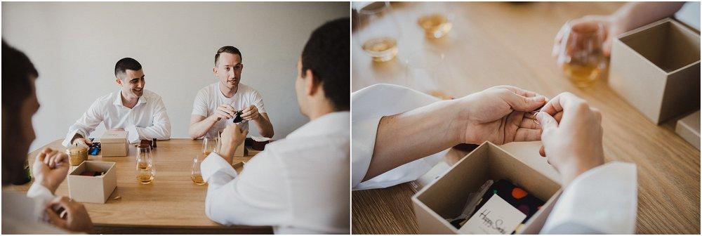 Sydney Wedding - Groomsmen candid