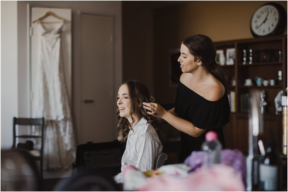 Sydney Wedding - Bride Prep makeup