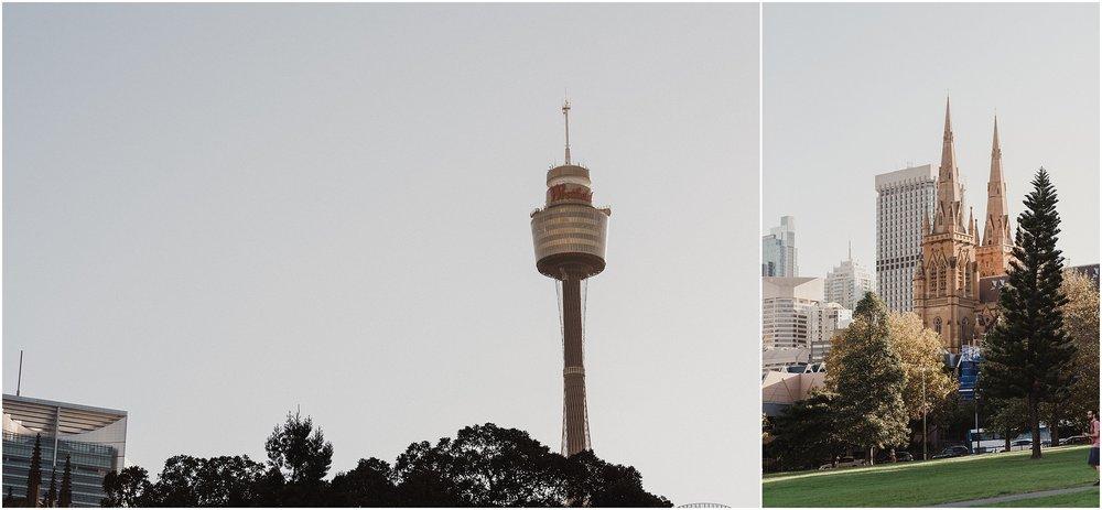 Sydney Skyline - Autumn Wedding