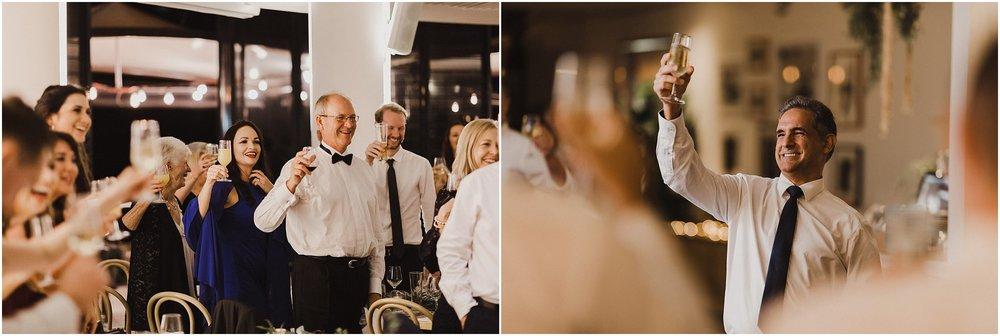 Pavilion Restaurant Sydney Wedding Reception