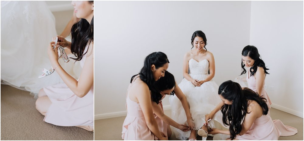 Bride prep shoes