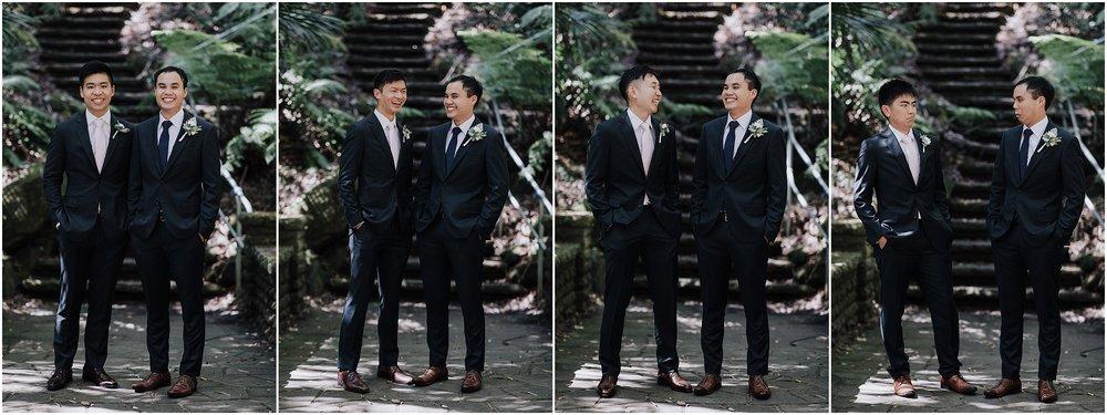 Groom and groomsmen style