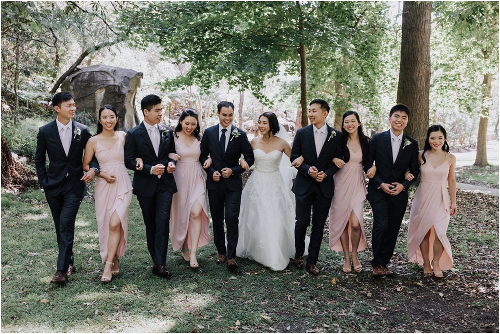 Sydney bridal party portraits