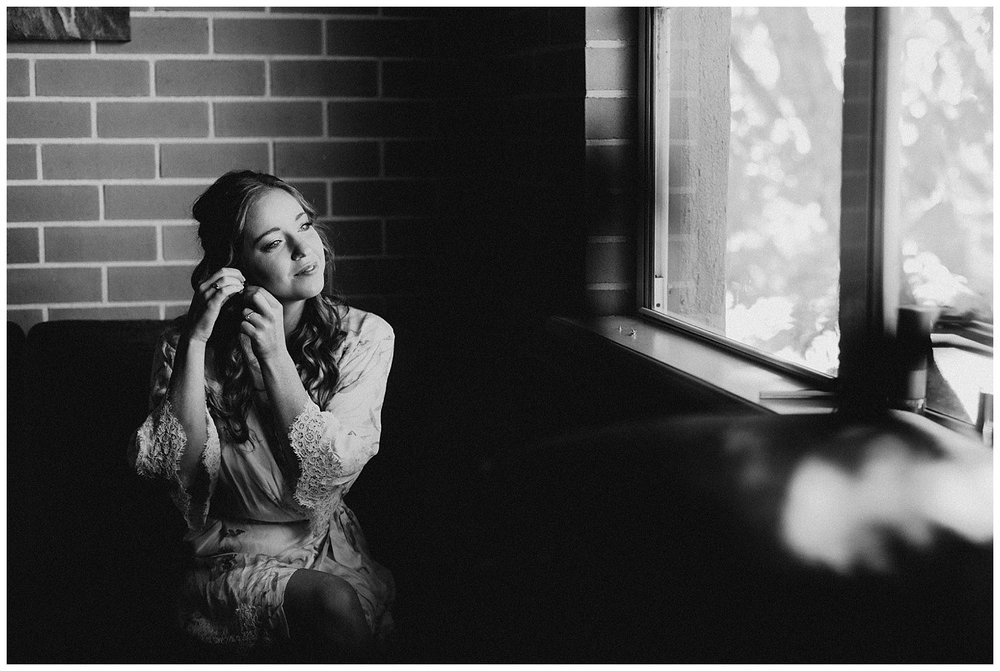 Bowral Southern Highlands Autumn Wedding - Bride getting ready