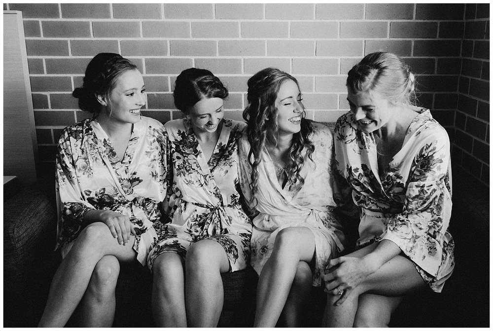 Bowral Southern Highlands Autumn Wedding - Bride and Bridesmaids