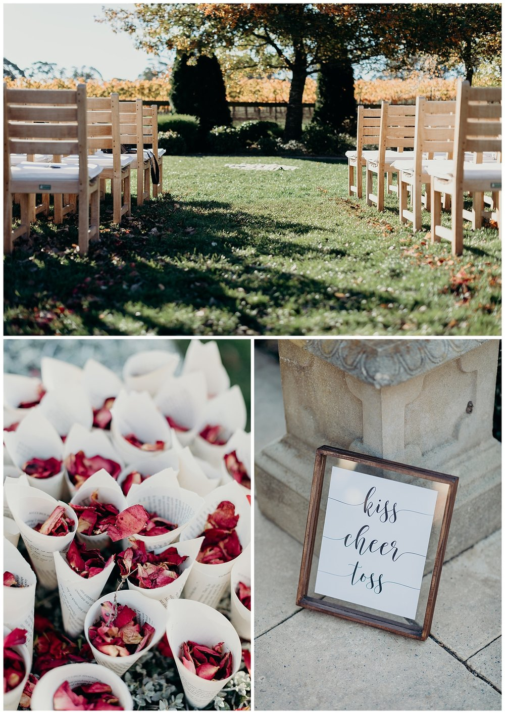 Bowral Southern Highlands Autumn Wedding - Centennial Vineyards wedding details