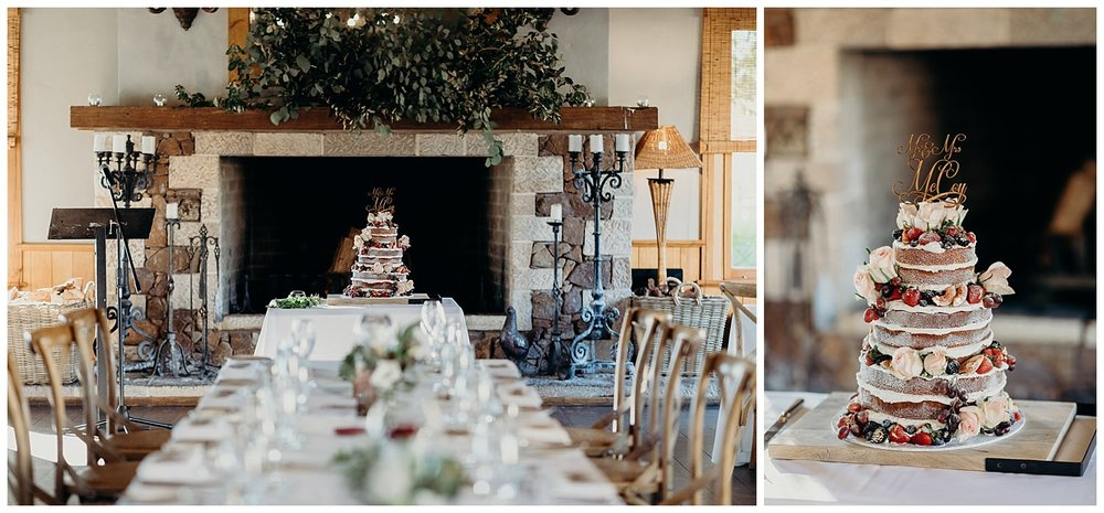 Bowral Southern Highlands Autumn Wedding - Centennial Vineyard reception room