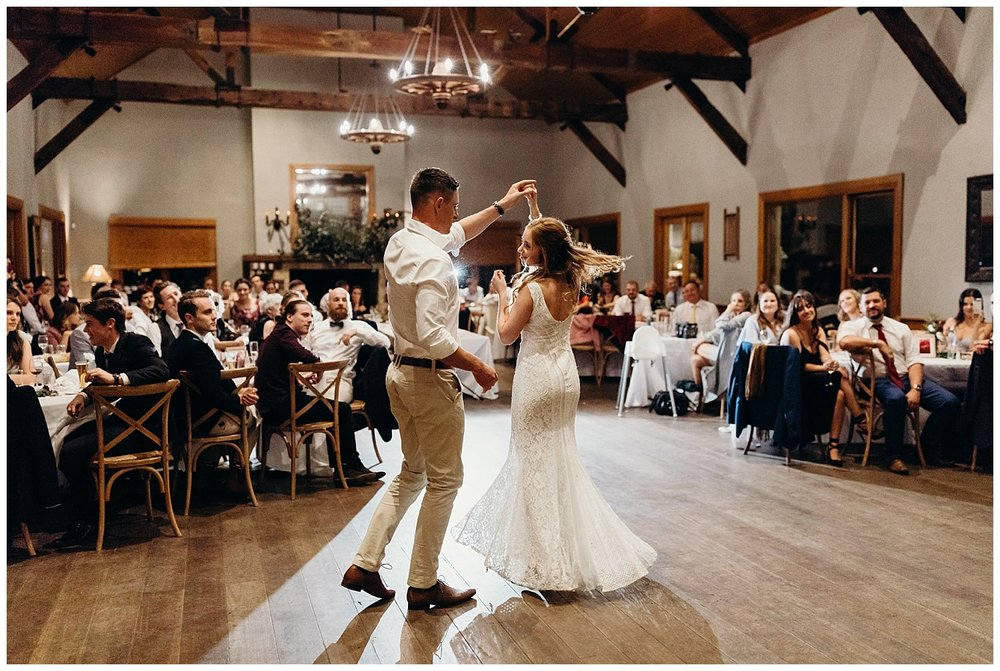 Bowral Southern Highlands Autumn Wedding - First dance Centennial Vineyards