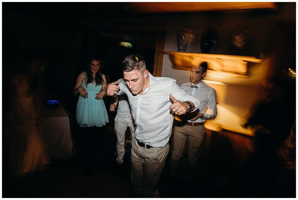 Bowral Southern Highlands Autumn Wedding - Groom dancing at Centennial Vineyards Reception