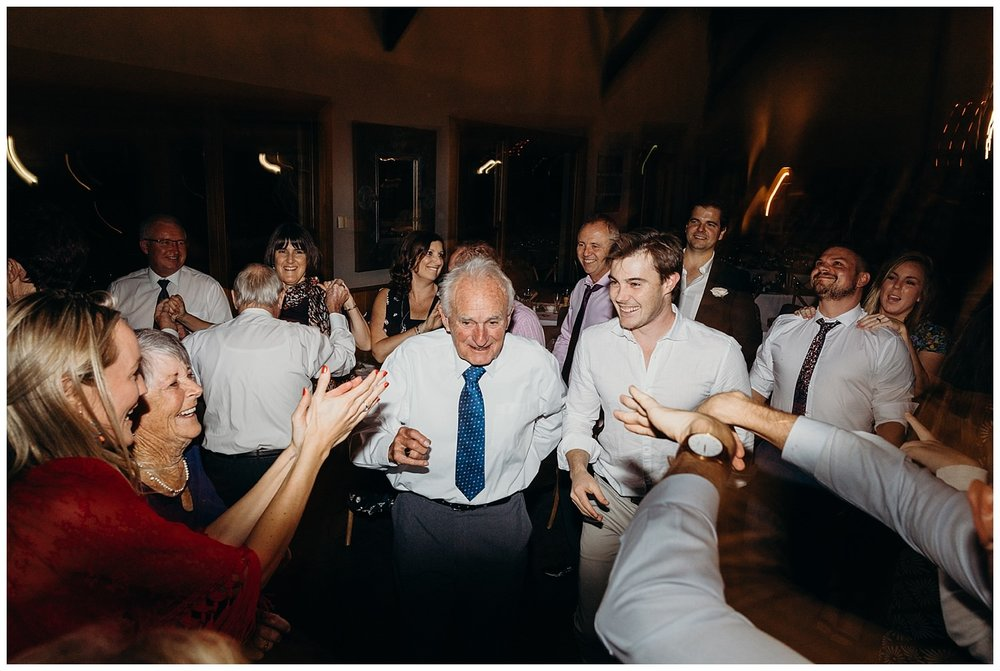Bowral Southern Highlands Autumn Wedding - Grandfather dancing