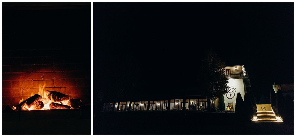 Bowral Southern Highlands Autumn Wedding - Centennial Vineyards at night