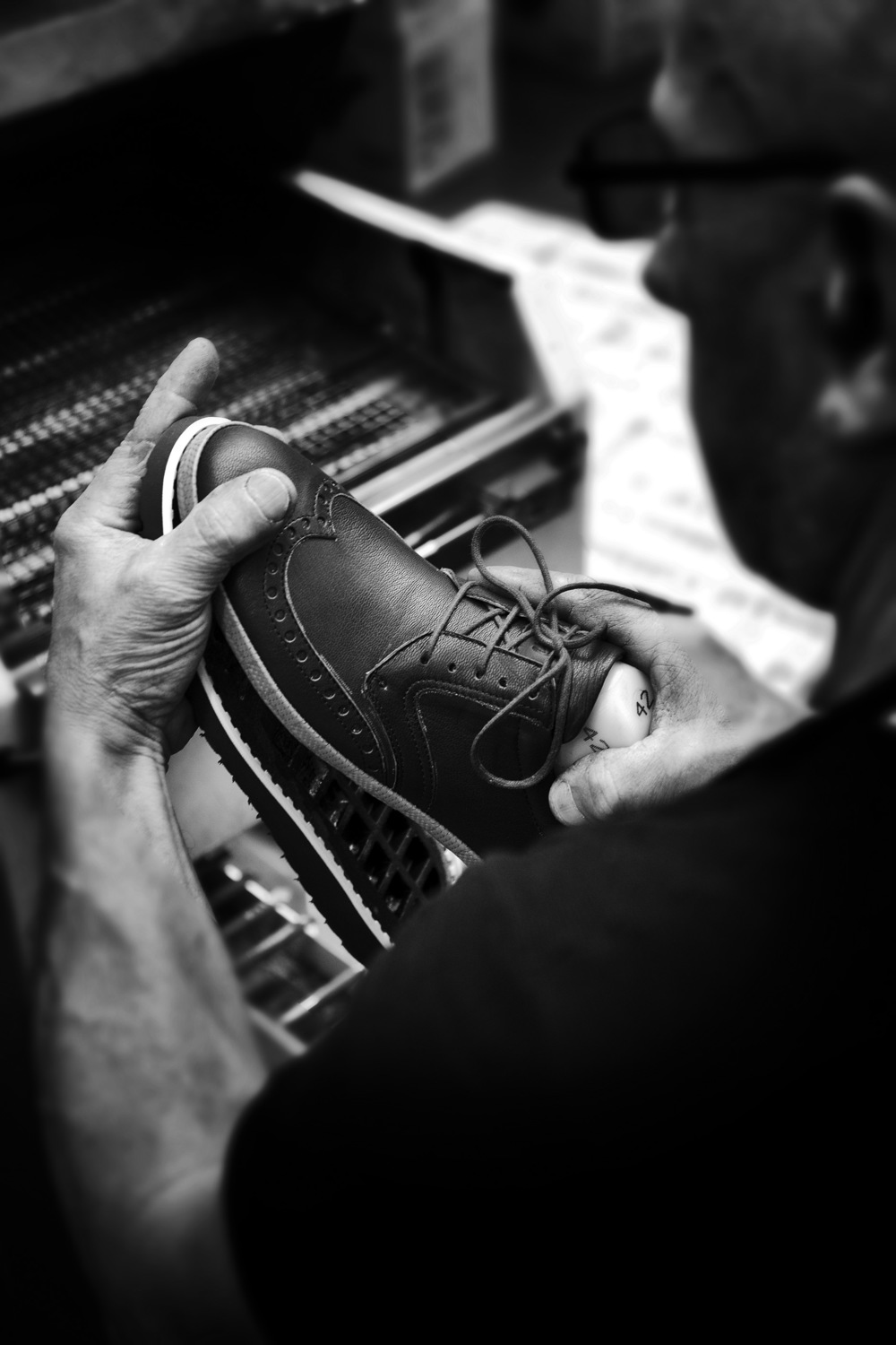 Creating ALODD's Comfort Line footwear is a painstaking process, requiring immense attention to detail — the Italian shoemaker's speciality.