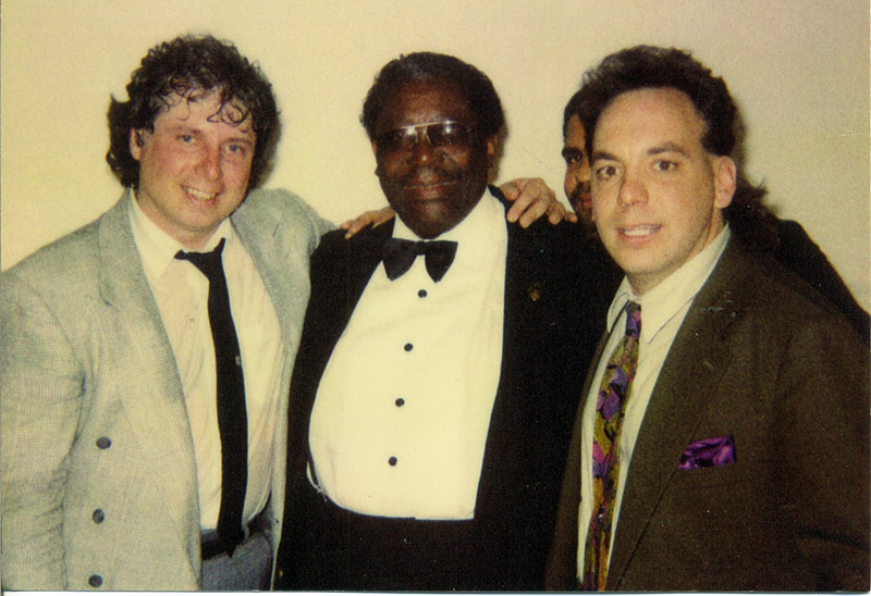 BB King and Jack Scarangella