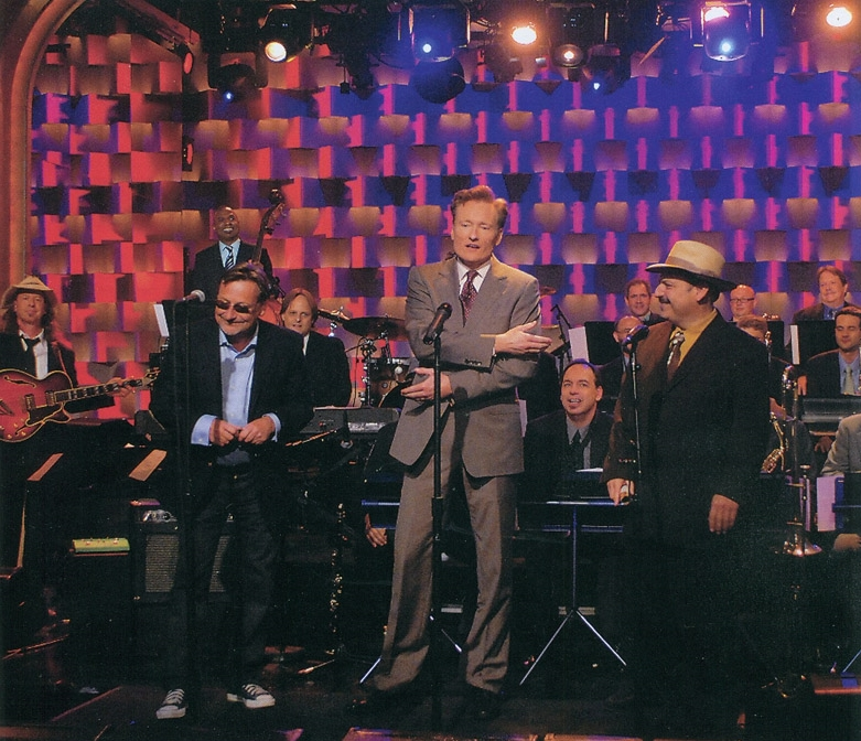 Conan O'Brian, Southside Johnny & The LaBamba BIg Band