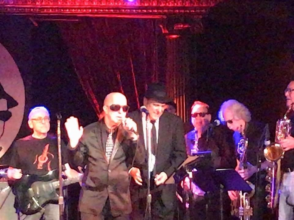 Paul Shaffer w The Original Blues Brothers band