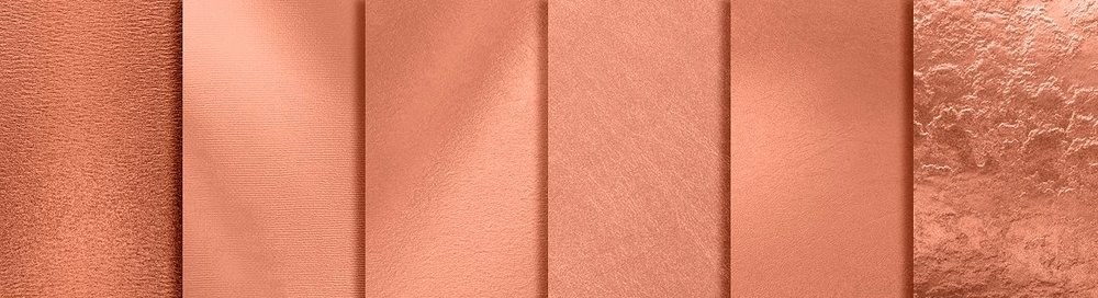 Rose Gold Flowers - Blush takes a rosy turn.