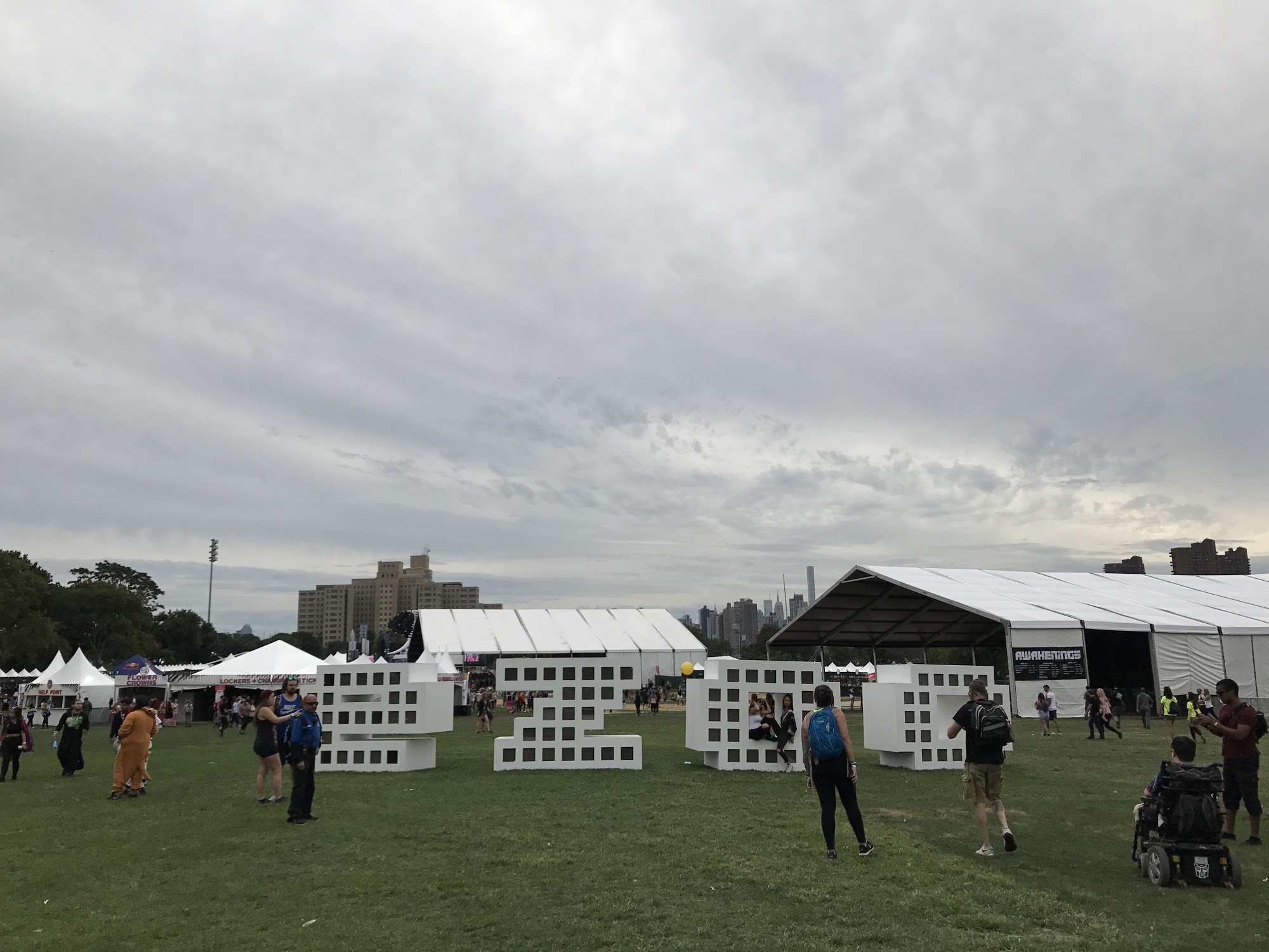 Solo Adventures at Music Festivals — Matty Wings