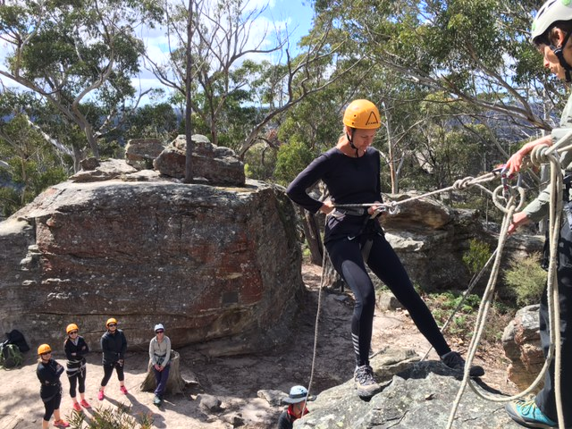 she-went-wild-abseiling