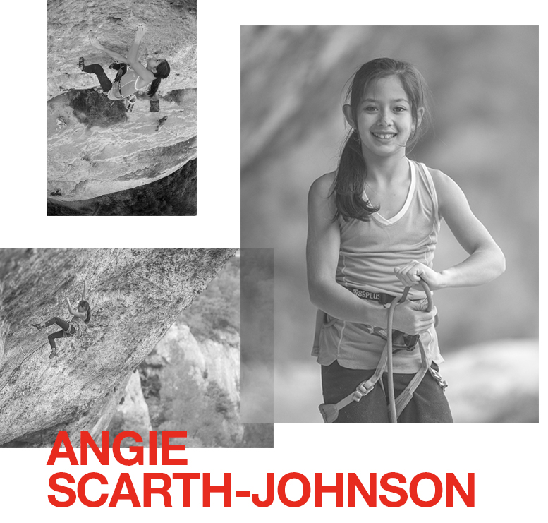 Local rock climber Angie Scarth-Johnson, 11, of the Blue Mountains, NSW has joined the Australia and New Zealand athlete team. Angie joins a strong team of local athletes as the first female climber, and certainly the youngest in all disciplines. She brings with her a passion for the outdoors and exploration, and a hope to inspire other young climbers to follow their dreams.