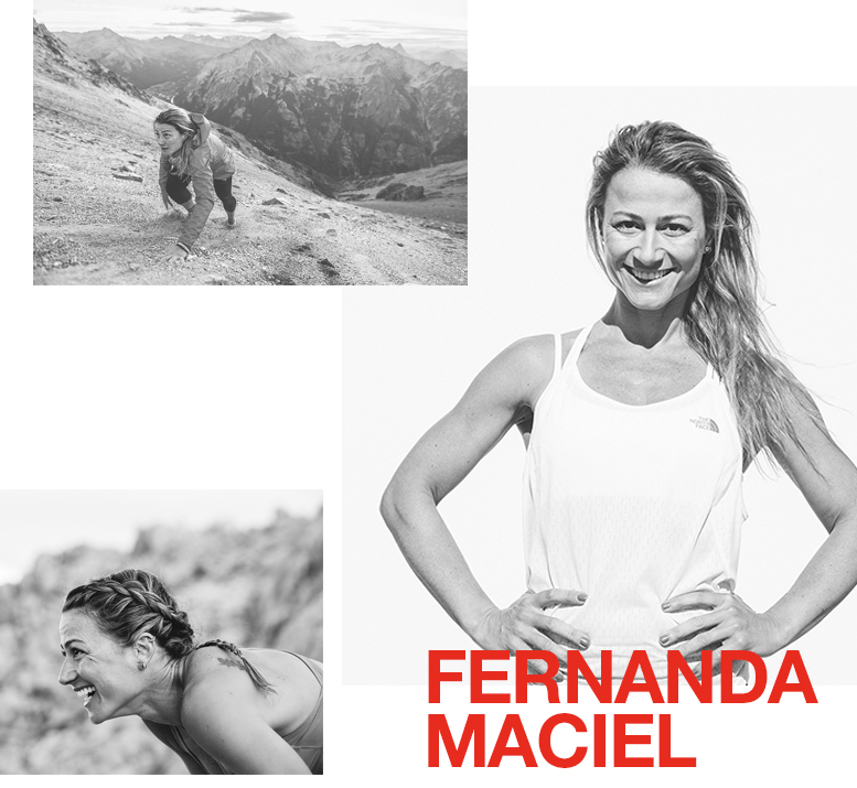 Born in Brazil, now living in the Spanish Pyrenees, Fernanda is a highly respected endurance runner with a deep passion for protecting the environment and helping people in need.She is also determined to make a positive impact on the places she visits and likes her runs to carry strong social or environmental messages.