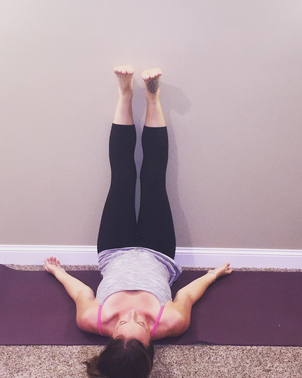 Legs-Up-the-Wall Pose   Viparita Karani